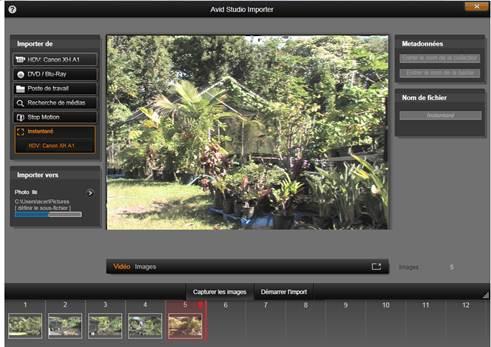 Avid Studio image002 Instantané
