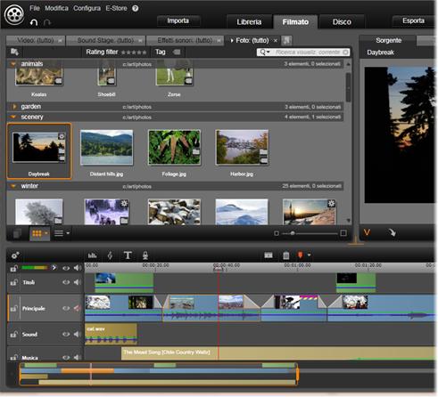 Avid Studio image001 LEditor filmati