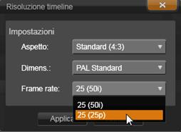 Avid Studio image002 La barra degli strumenti della timeline