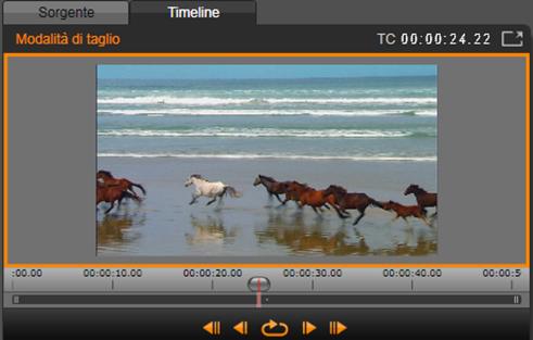 Avid Studio image004 Operazioni su clip