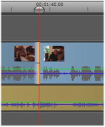 Avid Studio image006 Operazioni su clip