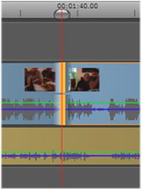 Avid Studio image009 Operazioni su clip