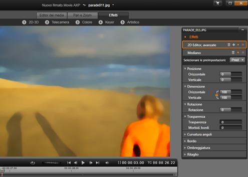 Avid Studio image001 Editing di contenuti multimediali: Effetti