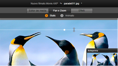 Avid Studio image001 Panoramica e zoom