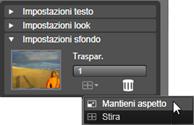 Avid Studio image001 Impostazioni sfondo