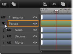Avid Studio image001 Utilizzo di gruppi di livelli