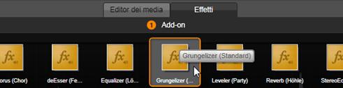 Avid Studio image001 Effetti audio