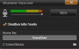 Avid Studio image002 Strumento Voice over