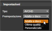 Avid Studio image002 Output su dischi