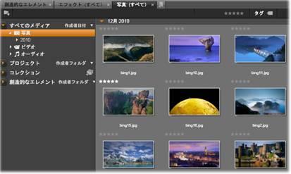 Avid Studio image003 アセットツリー