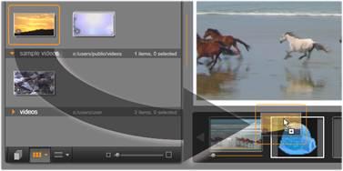 Avid Studio image002 Montagesjablonen gebruiken