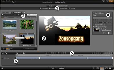 Avid Studio image001 De Titel editor