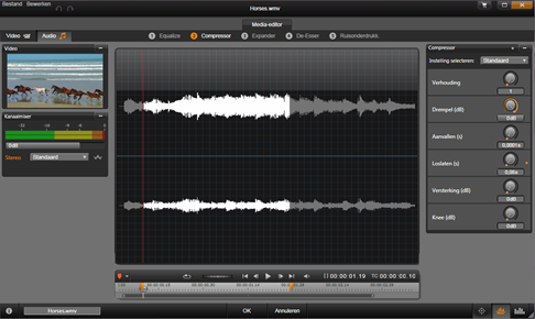 Avid Studio image001 De Audio editor