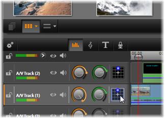 Avid Studio image006 Audiofuncties van de tijdlijn