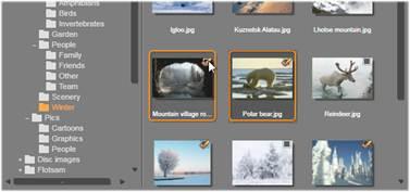 Avid Studio image003 Bestanden selecteren voor importeren