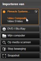 Avid Studio image001 Importeren van analoge bronnen