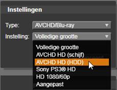 Avid Studio image005 Uitvoeren naar bestand