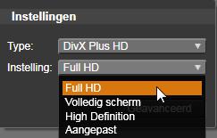 Avid Studio image008 Uitvoeren naar bestand