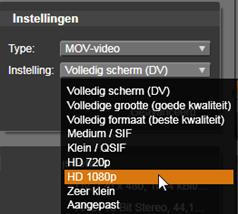 Avid Studio image011 Uitvoeren naar bestand