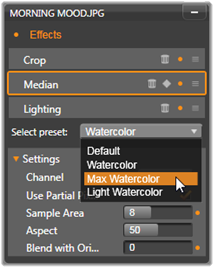 Avid Studio image001 Innstillings panelet