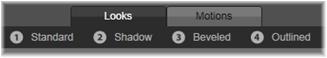 Avid Studio image001 Forhåndsinnstillings Valg :