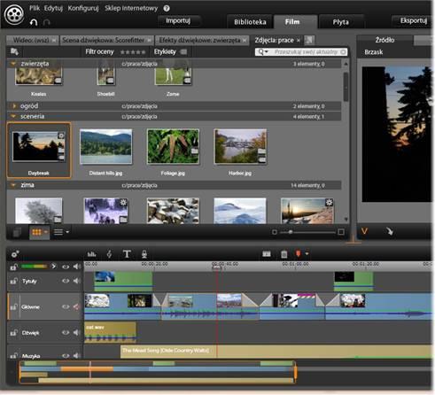 Avid Studio image001 Edytor filmu