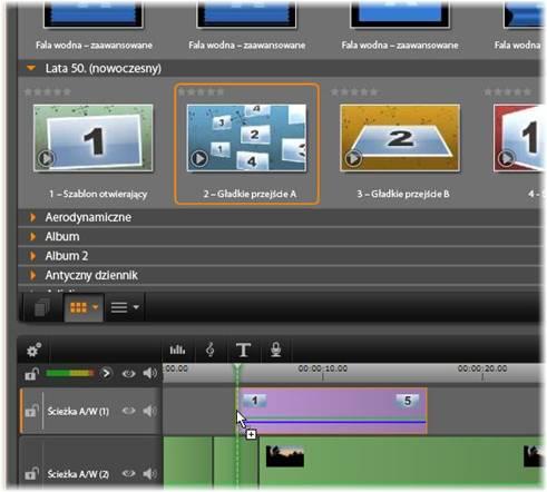 Avid Studio image001 Używanie szablonów montażowych