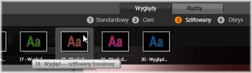 Avid Studio image001 Wstępnie ustawione wyglądy