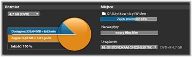 Avid Studio image001 Eksportowanie na płytę