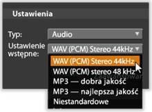Avid Studio image004 Eksportowanie do pliku