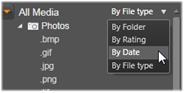 Avid Studio image002 Tillgångsträdet