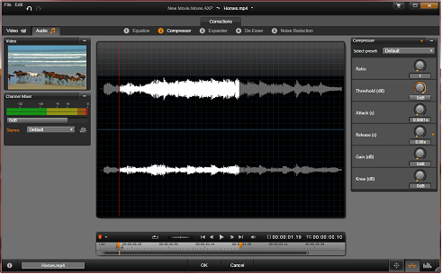 Avid Studio image001 Ljudredigeraren