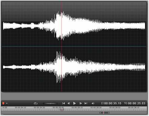 Avid Studio image003 Ljudredigeraren