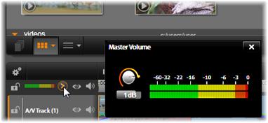 Avid Studio image001 Tidslinjens ljudfunktioner