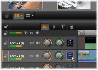Avid Studio image006 Tidslinjens ljudfunktioner