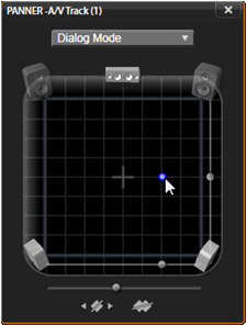 Avid Studio image007 Tidslinjens ljudfunktioner
