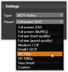 Avid Studio image011 Överföring till fil