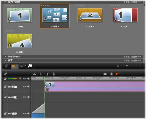 Avid Studio image001 使用蒙太奇模板