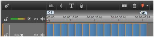Avid Studio image001 时间线菜单标记