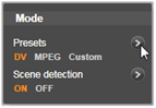 Avid Studio image003 模式面板