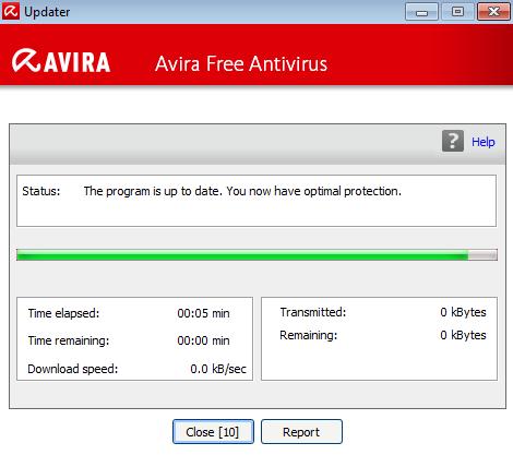 Avira updater main Updater
