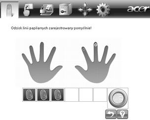 Acer Bio Protection 014.zoom60 Rejestracja nowych linii papilarnych