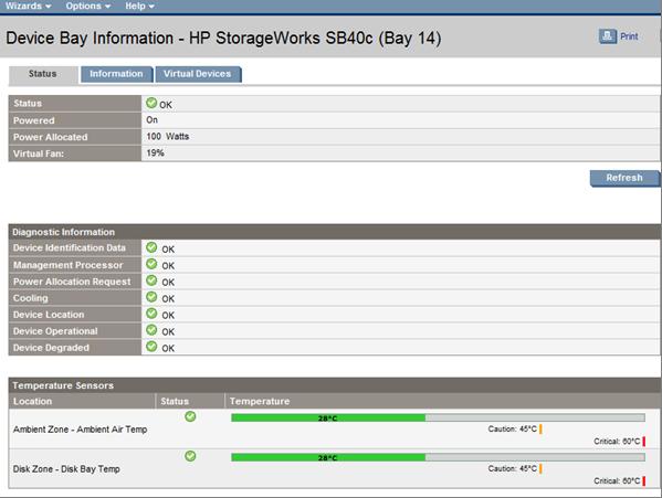 HP BladeSystem 141114 Storage blades