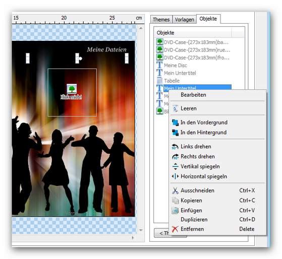Burning Studio objects.zoom90 Cover gestalten
