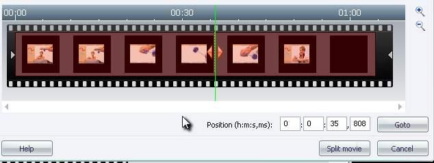 Burning Studio cut2 Split Video