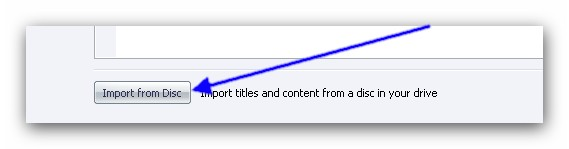 Burning Studio import Add Titles or Content