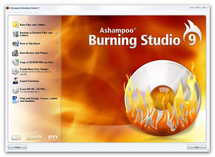 Burning Studio main new.zoom70 Getting Started