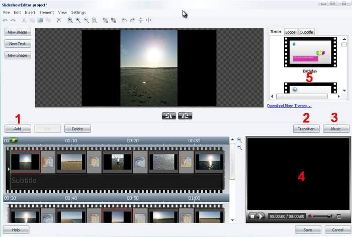 Burning Studio slideshow2.zoom70 Edit Slideshow