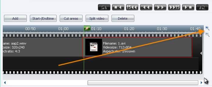 Burning Studio zoom Navigate Through A Movie