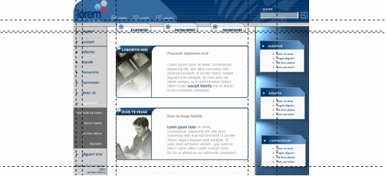 CorelDRAW layout guidelines examples Setting up guidelines